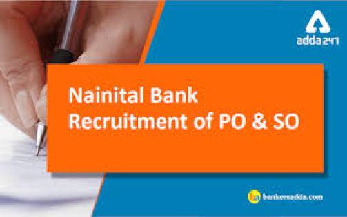 Nainital Bank PO & SO Recruitment 2019
