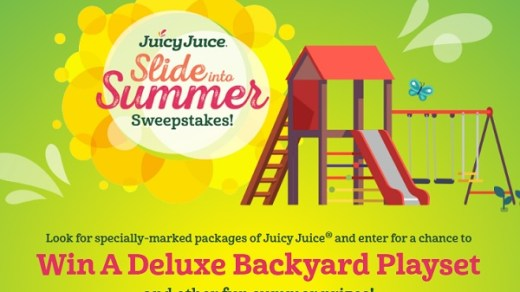 Juicy Juice Slide Into Summer Sweepstakes