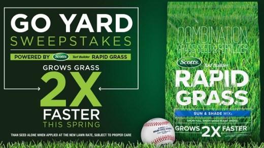 MLB Go Yard Sweepstakes