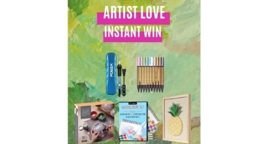 Steamy Kitchen Artist Love Instant Win Game Sweepstakes