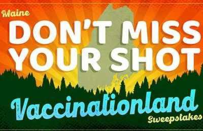 Maine Vaccine Sweepstakes