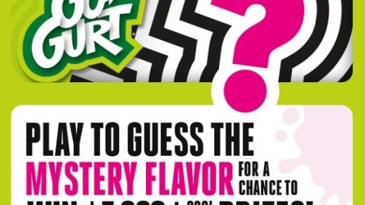 Go-GURT Mystery Flavor Sweepstakes