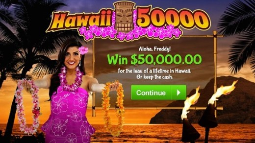 PCH $50000 Hawaii Vacation Sweepstakes