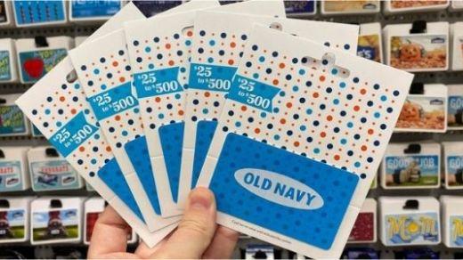 Old Navy BTS Savings Giveaway