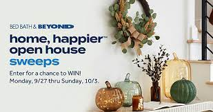 Bed Bath & Beyond Open House Sweepstakes