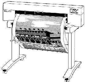 HP DesignJet Plotter DnJ 430 450C 455CA 488CA Ersatzteile