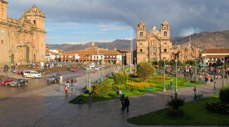 Plaza de las Armas Cuzco Peru