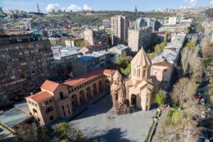 Holy Mother of God Kathoghike Church / Jerevan / Armenië