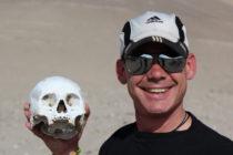 In de woestijn bij Nazca / Peru