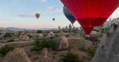Fotoalbum Turkije Meer foto's van het ballonvaren in Cappadocië in dit Fotoalbum Turkije.