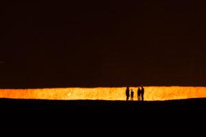 De poort naar de hel in Derweze / Turkmenistan
