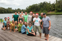 Uacari Ecolodge / Mamirauá / Brazilië