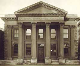 The National Bank, Oamaru, built 1871: a prost...