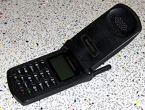 an old cell phone