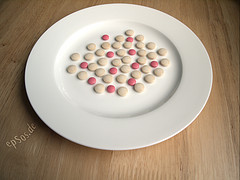 Medicine Drug Pills on Plate