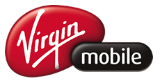The original Virgin Mobile logo.