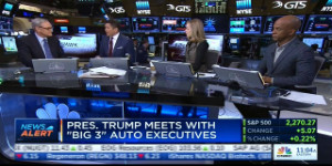"""Building Cars in the US Won't Narrow Trade Deficit on CNBC's """"Squawk Alley"""""""