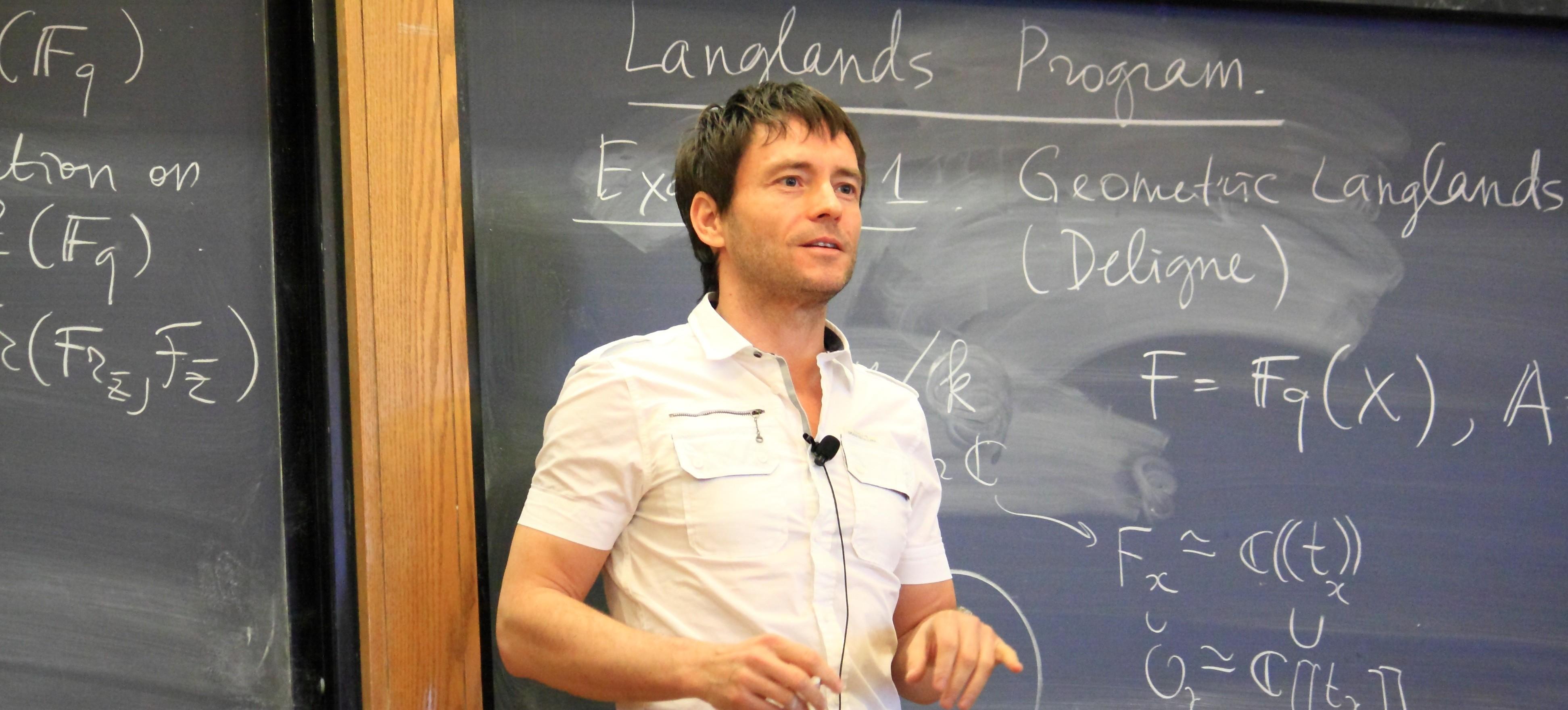 Mathematics Edward Frenkel