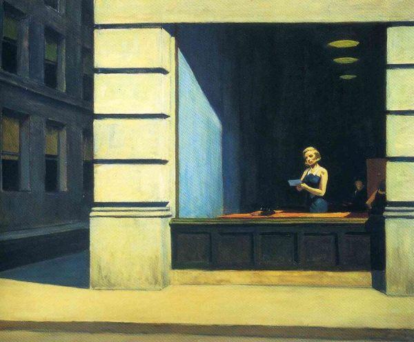 Edward Hopper New York Office