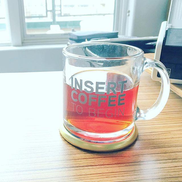 spoiler alert: it's tea