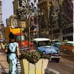 Vintage Streetview Detroit, zoals het ooit geweest heeft kunnen zijn