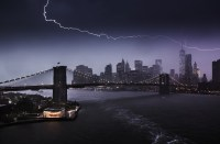 Lightning over Manhattan  Edward Reese Photography