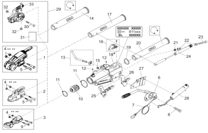 How To Identify Braked Coupling Parts Edwards Trailers