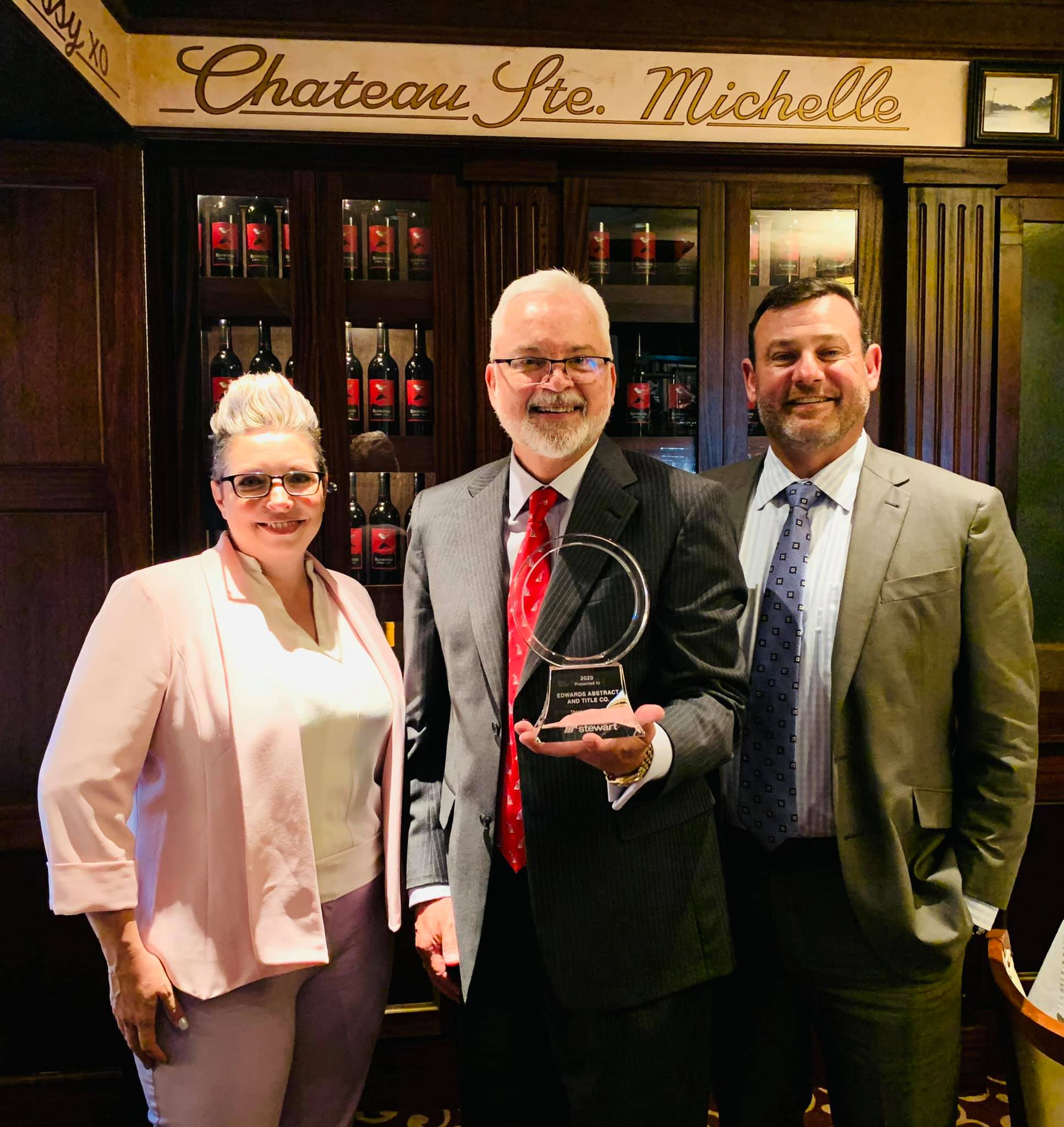 Edwards Receives Circle of Excellence Award