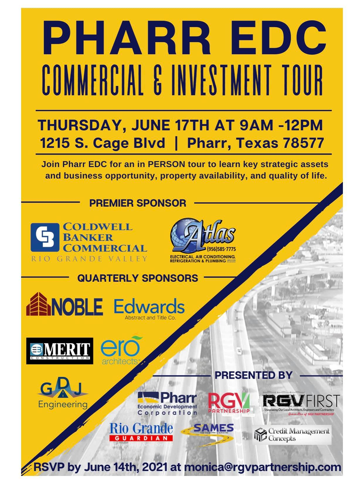 Pharr Commercial Property Tour