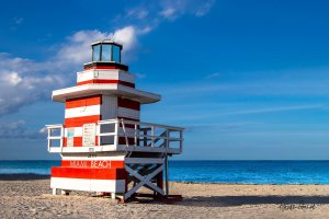 Lifeguard Tower Jetty