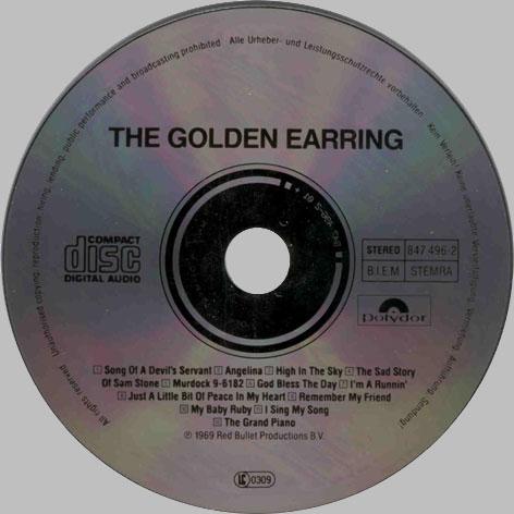 Germany Golden Earring Cds01