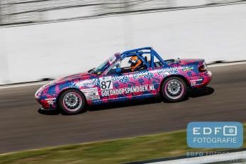Michael van der Heijden - Mazda MX5 - Mazda MaX5 Cup - DNRT Super Race Weekend - Circuit Park Zandvoort