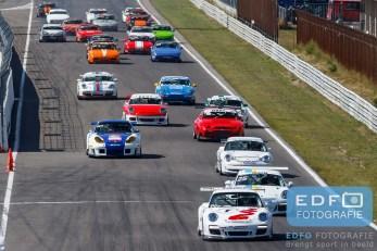 Start Porsches - Porsche 944 - ADPCR - DNRT Super Race Weekend - Circuit Park Zandvoort
