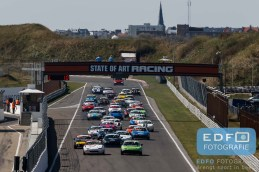 Start - Mazda MX5 - Mazda MaX5 Cup - DNRT Super Race Weekend - Circuit Park Zandvoort