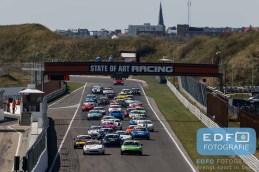 Start - Mazda MX5 - Mazda MaX5 Cup - DNRT Super Race Weekend - Circuit Park Zandvoort