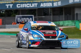 Dennis de Borst - Martin de Kleijn - FEBO Racing Team Ferry Monster Autosport - Seat Sport Leon Cup Racer - Supercar Challenge - Gamma Racing Day TT-Circuit Assen