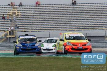 Toon Rutgers - Marco Poland - Stan van Oord - Spirit Racing - Renault Clio RS 2.0 - Supercar Challenge - Gamma Racing Day TT-Circuit Assen