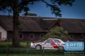 Piet van Hoof - Max Jacobs - Mitsubishi Lancer EVO 4 - Unica Schutte ICT Hellendoorn Rally 2015