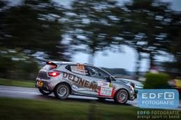 Kevin van Deijne - Hein Verschuuren - Renault Clio R3T - Unica Schutte ICT Hellendoorn Rally 2015