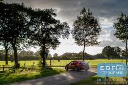 Jasper van den Heuvel - Lisette Bakker - Mitsubishi Lancer EVO 10 R4 - Unica Schutte ICT Hellendoorn Rally 2015