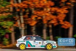 Jef van Hooft - Richard van den Wildenberg - Lancia Delta HF Integrale - Conrad Twente Rally 2015