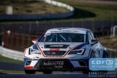 Gijs Bessem - Martin van den Berge - Seat Leon Cupracer - Bas Koeten Racing - DNRT WEK Zandvoort 500