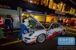 Marcel van Berlo - Bob Herber - Porsche GT3 - DNRT WEK Nieuwjaarsrace 2016 - Circuit Park Zandvoort