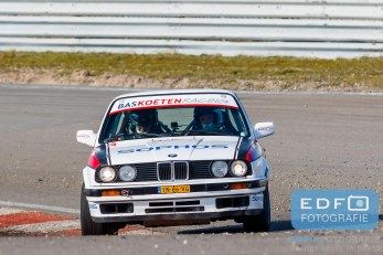 Harm van Koppen - Kees Hagman - BMW 325i E30 - Bas Koeten Racing - Circuit Short Rally - Circuit Park Zandvoort