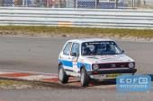 Niek Oude Luttikhuis - Wilbert van den Burg - VW Golf 1 GTi - Circuit Short Rally - Circuit Park Zandvoort