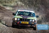 Peter Smets - Isabelle Brouwer - BMW 325i E30 - Circuit Short Rally - Circuit Park Zandvoort