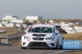 Loris Hezemans - Oliver Hart - Team Hezemans - Seat Leon Cupracer - DNRT WEK Final 4 - Circuit Park Zandvoort