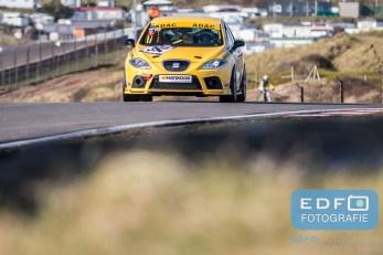 Godderz - Offerman - Seat Leon Cupra GR - DNRT WEK Final 4 - Circuit Park Zandvoort