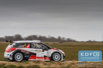 Ib Kragh - Freddy Pedersen - Citroen DS3 R5 - Zuiderzeerally 2016