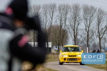 Ronald Leemans - Remco van Overdijk - Mitsubishi Lancer EVO 6 - Zuiderzee Short Rally 2016